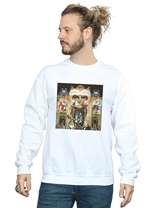 Michael Jackson Mens Dangerous Album Cover Sweatshirt at Amazon Mens Clothing store: