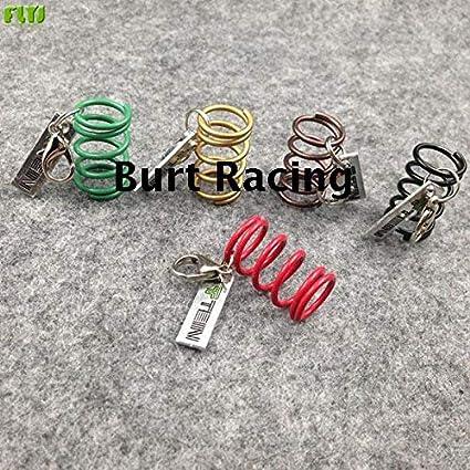 Key Rings ELT Tein Suspension S-Tech Spring Charm Car Keychain Authentic Auto Accessories Zinc