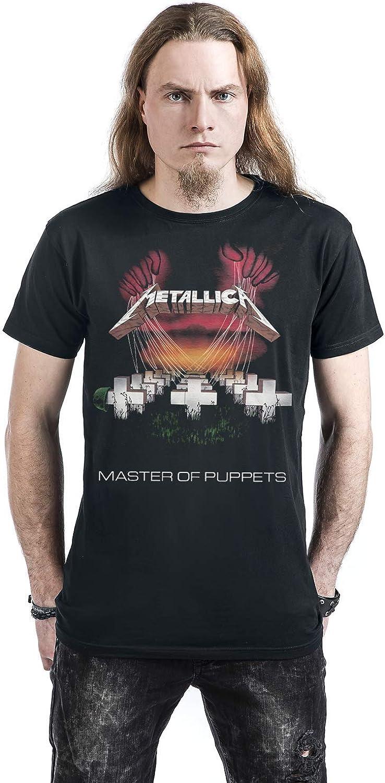 T-shirt Metallica MOP 86 European Tour Homme Noir