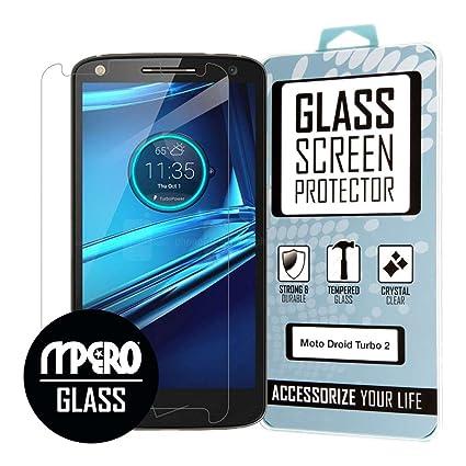 Protector de pantalla Motorola DROID Turbo 2, Vidrio templado 1 unidad - MPERO
