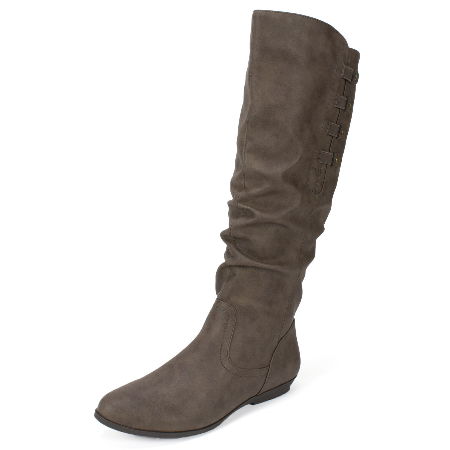 CLIFFS BY WHITE MOUNTAIN Cliffs 'Francie' Women's Boot B07581H3PF 8.5 B(M) US|Brown Suede