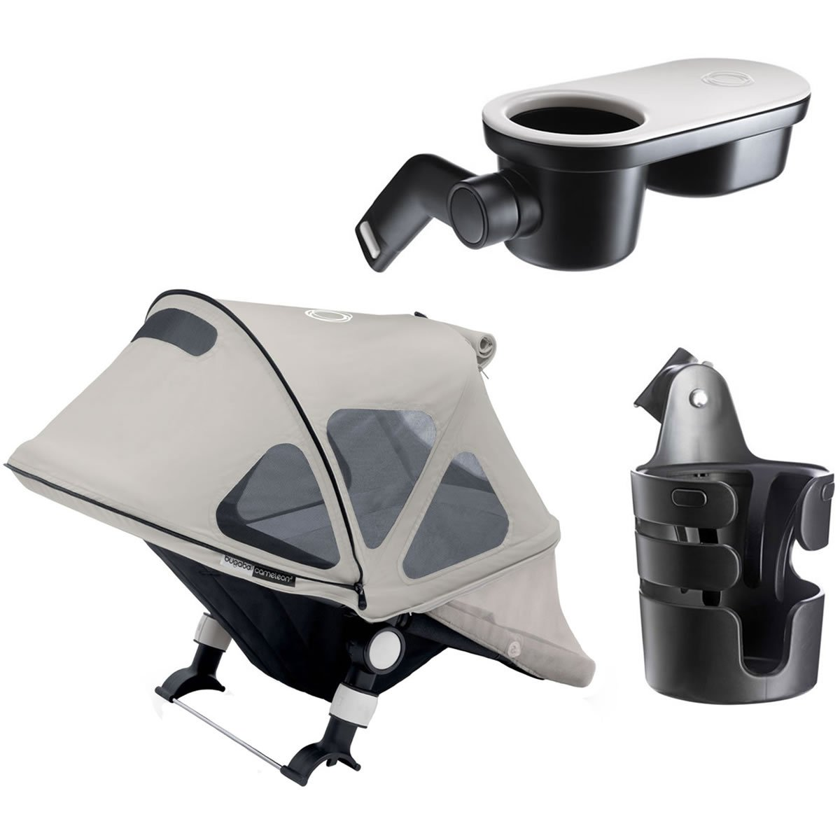 Bugaboo Cameleon3 Accessory Set - Arctic Grey by Bugaboo