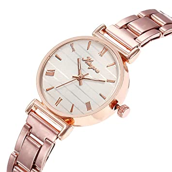 Amazon.com: Iuhan Wrist Watch Bracelet for Womens Young Girls, Women Alloy Steel Belt Casual Business Watch Geneva Simple Steel Belt Watch (D): Automotive