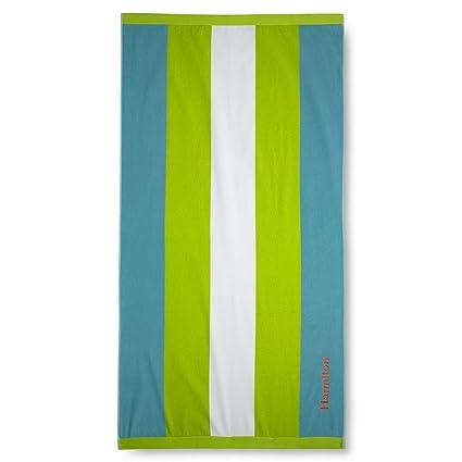 Lands End Beach Towels.Lands End Vertical Rugby Stripe Beach Towel Citrus Fields Stripe