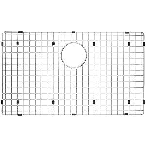 "Serene Valley Kitchen Sink Bottom Grid and Sink Protector NDG3018, 304 Premium Stainless Steel, dim 27 1/2"" x 15 11/16"""