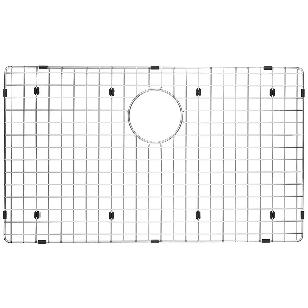 Serene Valley Sink Bottom Grid and Kitchen Sink Protector NDG3021, 304 Premium Stainless Steel, dim 26 3/4'' x 15 11/16''