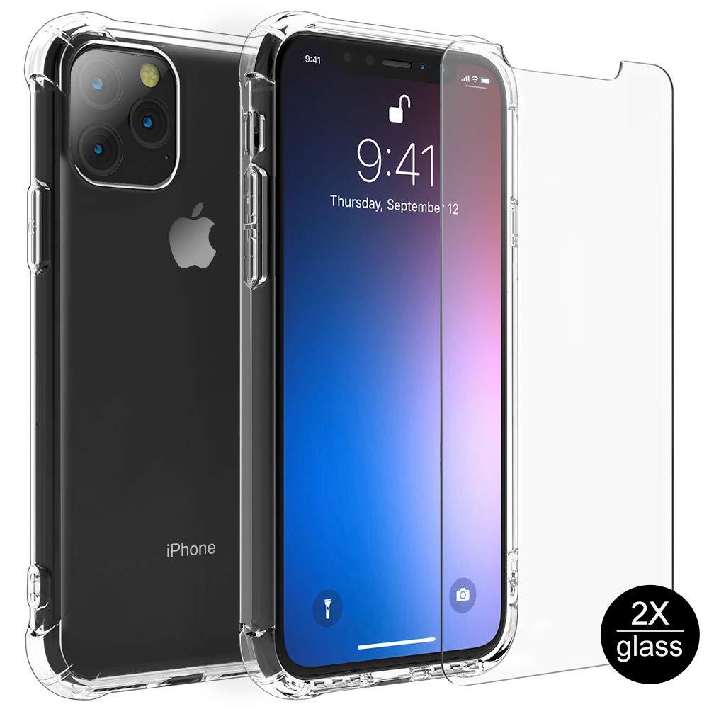Funda + Vidrio Iphone 11 Pro Max HENPONE [7WVGS3PW]