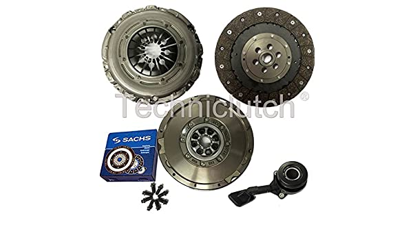 Embrague Kit, Sachs Dual masa volante, CSC y pernos 8944819453416: Amazon.es: Coche y moto