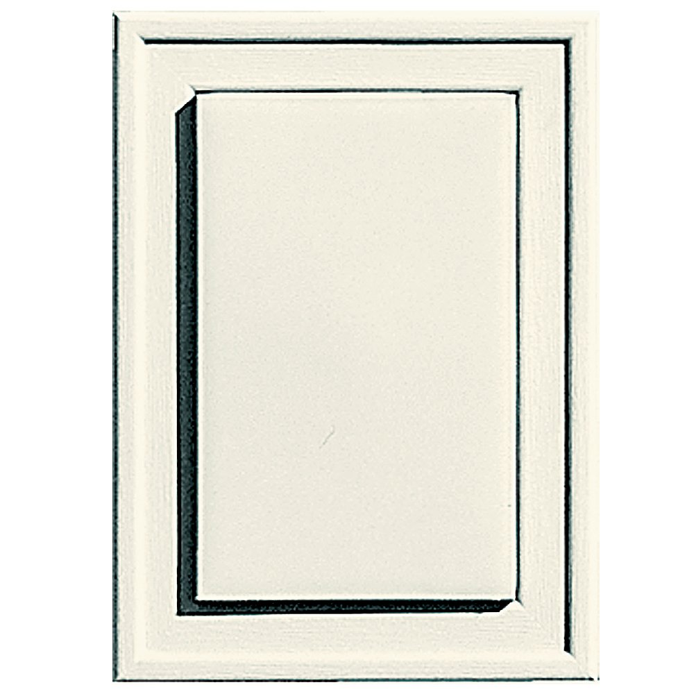 Builders Edge 130130001034 Raised Mini Mounting Block 034, Parchment The TAPCO Group - DROPSHIP