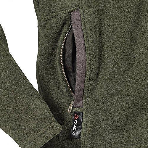 Mens Dark Glemsford Jacket Fleece Musto Moss q840E8w