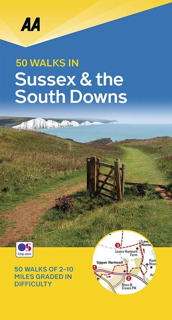 aa 50 walks sussex