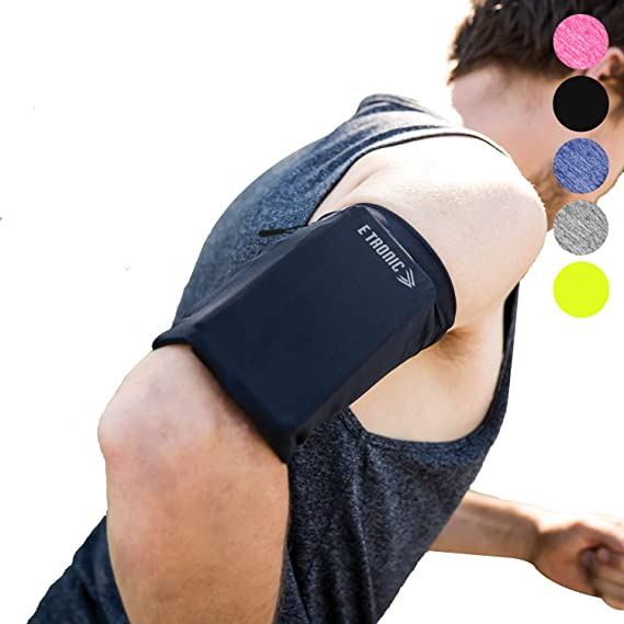 check out 5bb3a d5e97 Phone Armband Sleeve: Best Running Sports Arm Band Strap Holder Pouch Case  for Exercise Workout Fits iPhone X XS 6S 7 8 Plus iPod Android Samsung ...