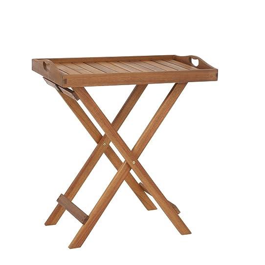 greemotion Table pliante d\'appoint Borkum - Table d\'appoint de ...