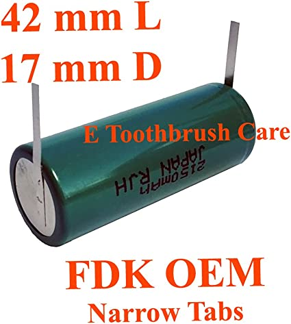 Replacement Battery for Braun Oral-b Triumph Professional Toothbrush NiMH 2200
