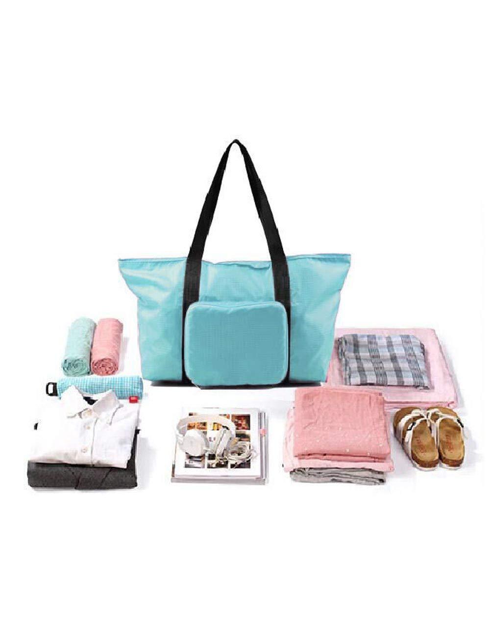 KARLA HANSON Pack n Fold Foldable Travel Tote Bag /… Black