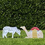 Outdoor Nativity Store Outdoor Nativity Set Add-on - Donkey and Camel (Standard, Color)