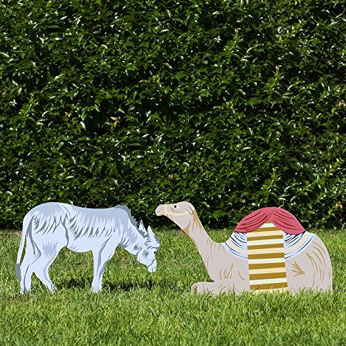 Outdoor Nativity Store Complete Outdoor Nativity Set (Standard, Color) by Outdoor Nativity Store (Image #4)