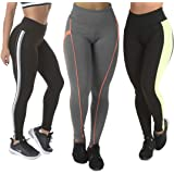 Kit 3 Calças Leggings Diversas Suplex