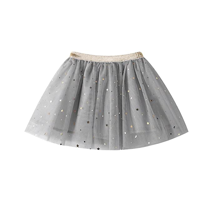 MYONA Falda de Tutú para Niña, Vestido de Tul para Niña Luz LED ...