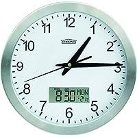 Reloj de Pared con Fechador y Termometro Chrono