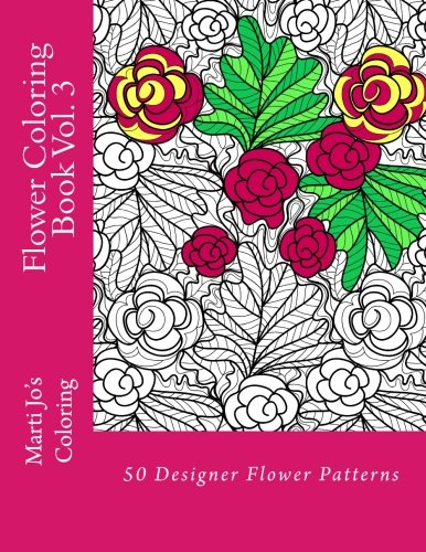Flower Coloring Book Vol. 3