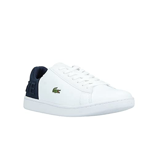 86d3dc4b4f4809 Lacoste Sneaker 36SPW0044042 Carnaby EVO 318 3 39 White  Amazon.co ...