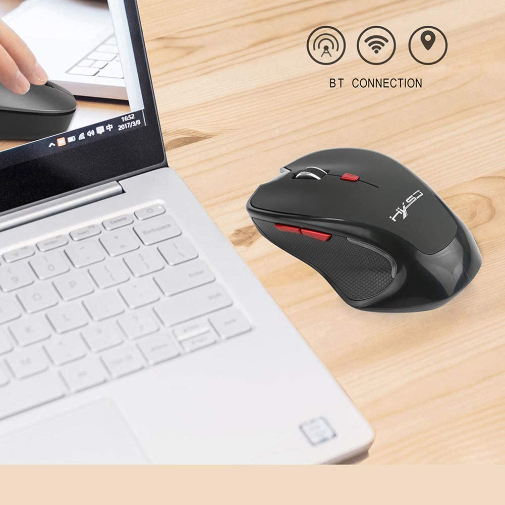 CICIN Wireless Mouse Ergonomic Vertical Mice 3.0 BT 2400 DPI 3DPI Optional for Mac Laptop Computer Computer Peripheral Mouse