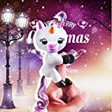Unicorn Interactive Glitter Finger Toy, USB cable charger, Finger Puppet for kids, Finger Pets Unicorn Stress Release toys Best Christmas Gift for children, United Unicorn Finger Toys not Fingerlings