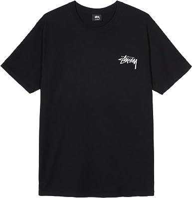 Stussy - Camiseta para Hombre, Mod. 1904481 Black Negro M: Amazon.es: Ropa y accesorios