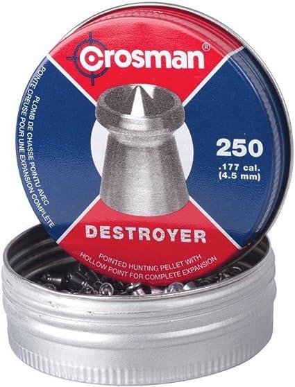 Crosman .177 4.5 Wadcutter Pellets 250 Ct 2 Tins for sale online