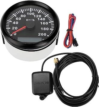 Medidor de coche Medidores de velocímetro GPS de 85 mm ...