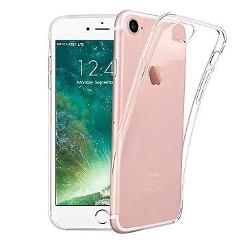 Funda para iPhone 7 8, TUCNIPUS Case Silicone- Ultra Delgado Cristal Transparente Transparente Funda para Celular TPU Funda para iPhone 7/8 ...