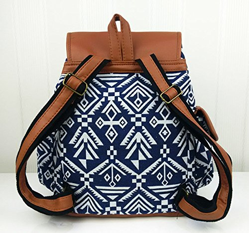 Flap Bucket for Style 3 Ethnic Womens Shoulder Catkit No Tote Boho Backpack Drawstring Bag Handbag College UXwnp