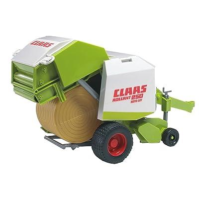 Bruder 02121 - Rotoempacadora Claas: Juguetes y juegos