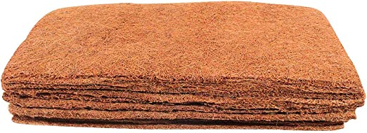 Amazon Com Envelor Coir Plant Cover Coconut Husk Planters Hydroponics Seed Starter Fiber Mulch Coco Grow Mat 10 X 20 Inches Pack Of 10 Garden Outdoor