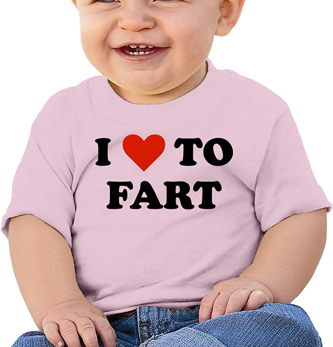 I Love to Fart 2 Baby Boys 100/% Cotton Tees Toddler