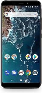 "Xiaomi Mi A2 (128GB + 6GB RAM) 5.99"" FHD Display, Dual Camera's, 4G LTE Android One Smartphone - International Global 4G Version (Black)"