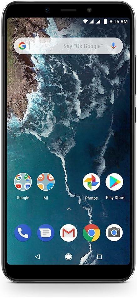 Xiaomi Mi A2 Smartphone débloqué 4G (Ecran : 5,99 Pouces - 64 Go - Double Nano-SIM - Android) Noir