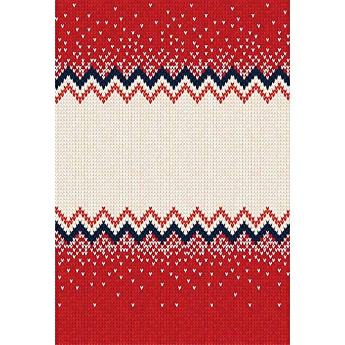 OFILA Christmas Ugly Sweater Party Backdrop 5x8ft Polyester Fabric Christmas Decoration Photos Background Festival Celebration Winter Party Shoots New Year Photos Studio Props -