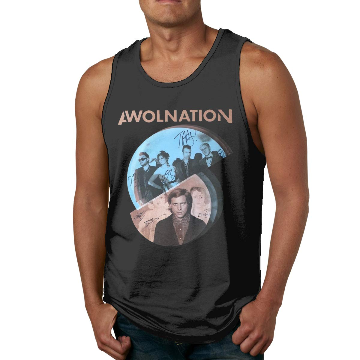 Awolnation Tank Vest Mans Sports Tank Tops T Shirts