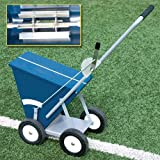 Alumagoal All-Steel Dry Line Marker, 4-Wheel