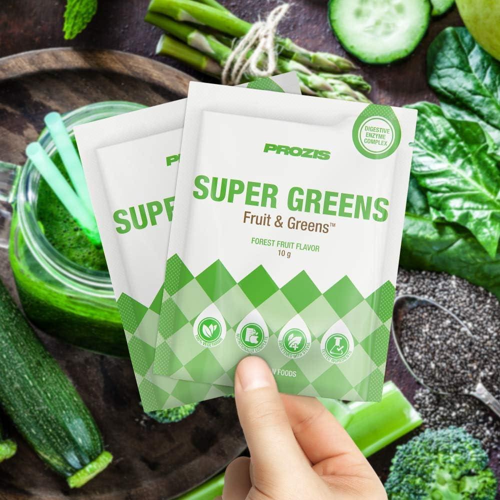 MyVegies Super Greens, Sabor Frutas del Bosque - 15 ...