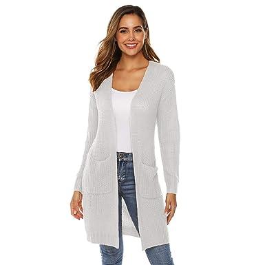 online retailer d60cd cb193 Rawdah_Donna Donna Cardigan Lunghi Risvolto Irregolare ...