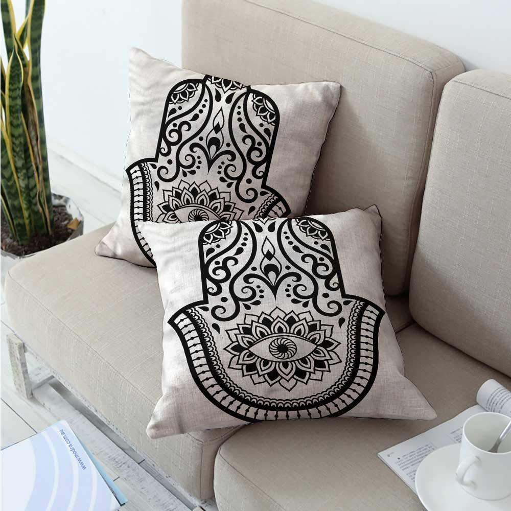 Amazon.com: HeKua Hamsa,Toddler Pillowcase Eye Symbol ...