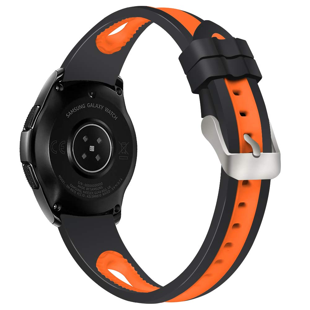 Amazon.com: Aottom 22mm Qucik Release Watch Band Silicone ...