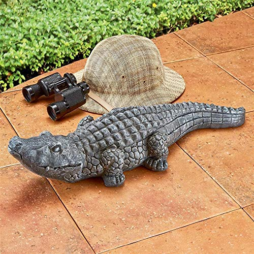- Design Toscano FU84355 Chomper The Swamp Beast, Greystone