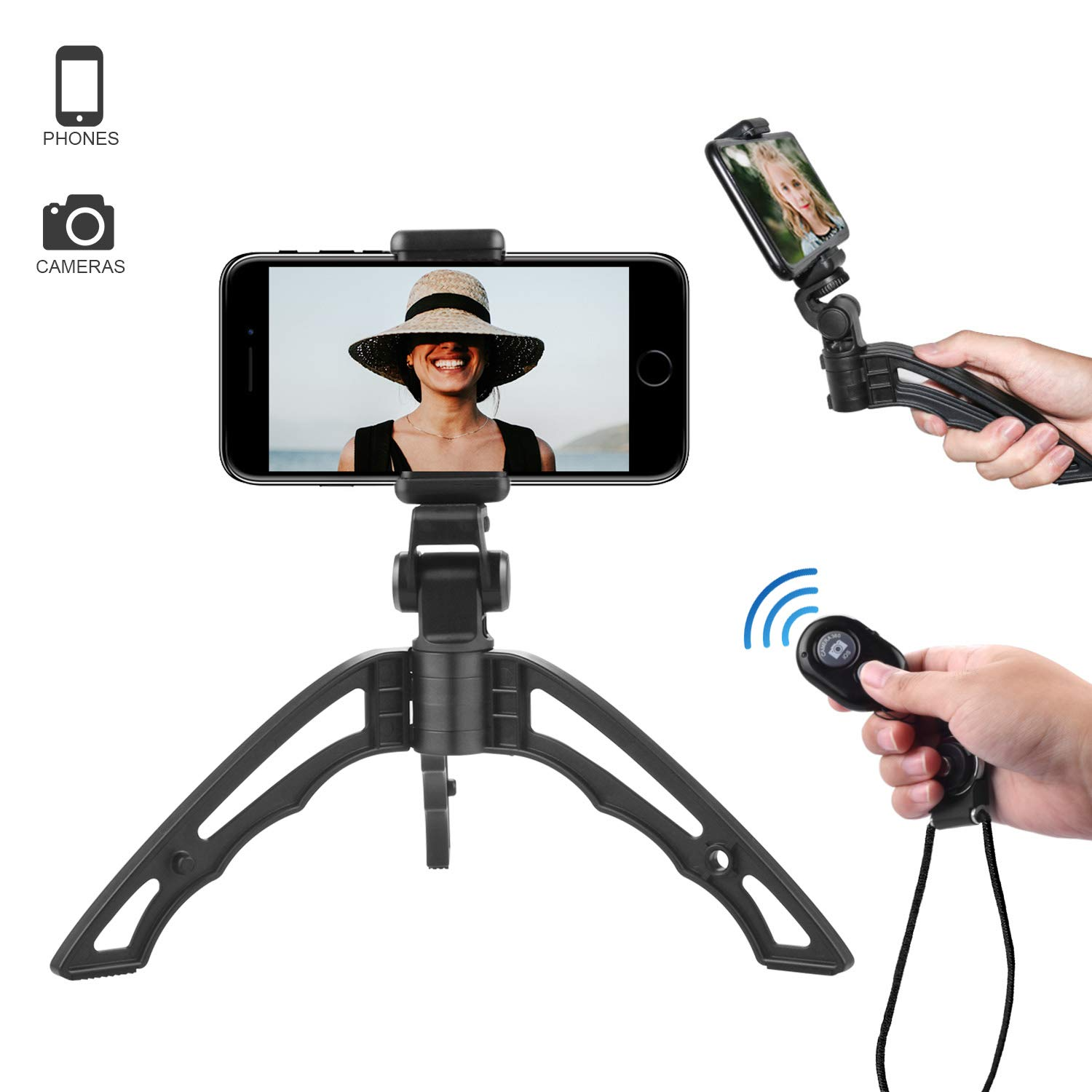 Best mini tripod with bluetooth remote