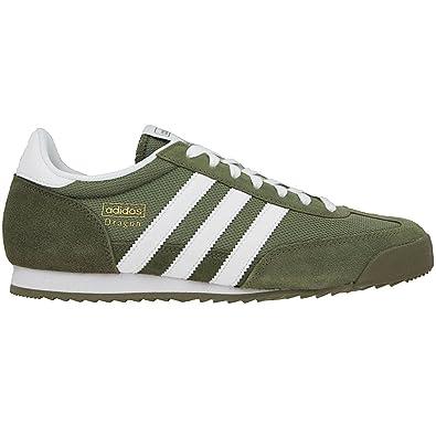 green adidas dragon trainers