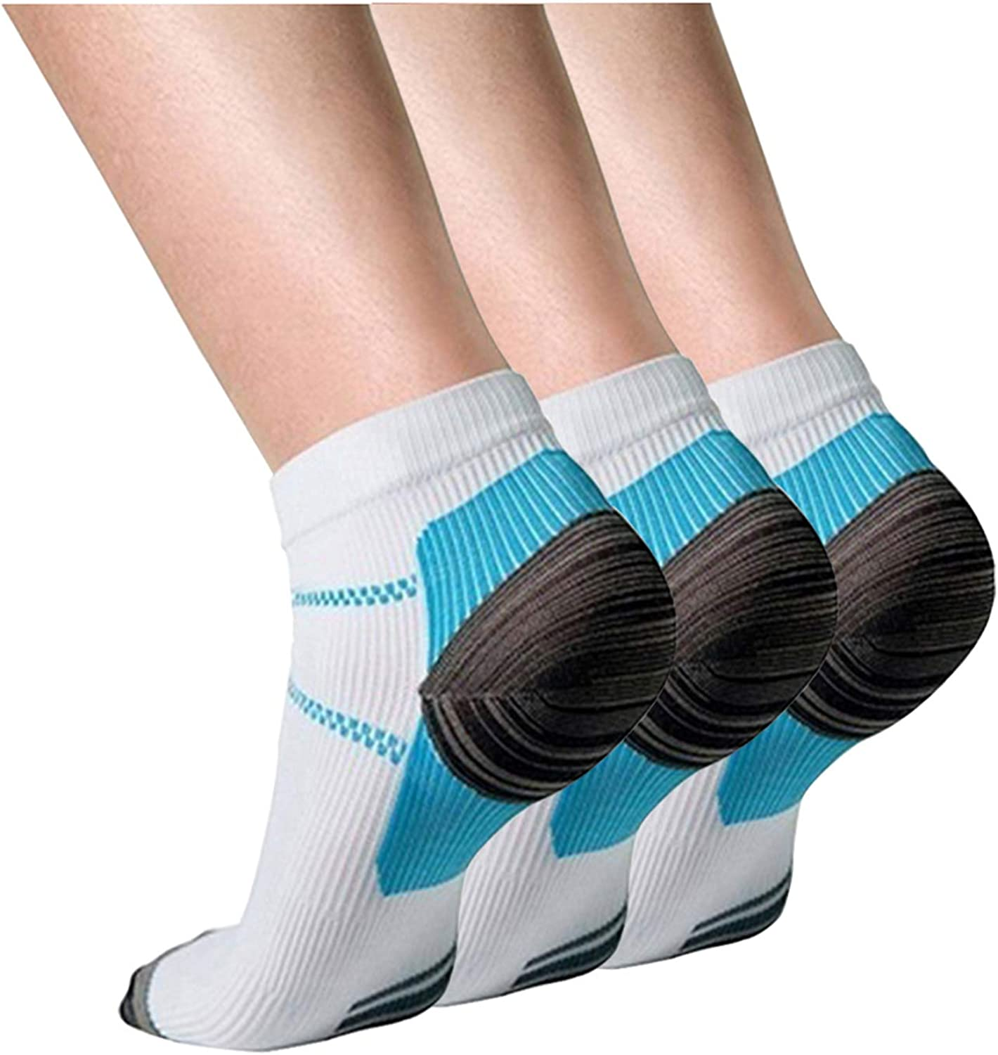 Compression Socks Women and Mens Socks 3/7 Pairs-Fit for Running,Athletic,Cycling,Travel& Medical
