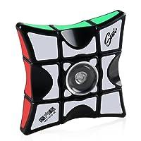 Coogam Fidget Puzzle Cube, 1x3x3 Floppy Cube Spinner Anti-ansia Fidget giocattoli per bambini